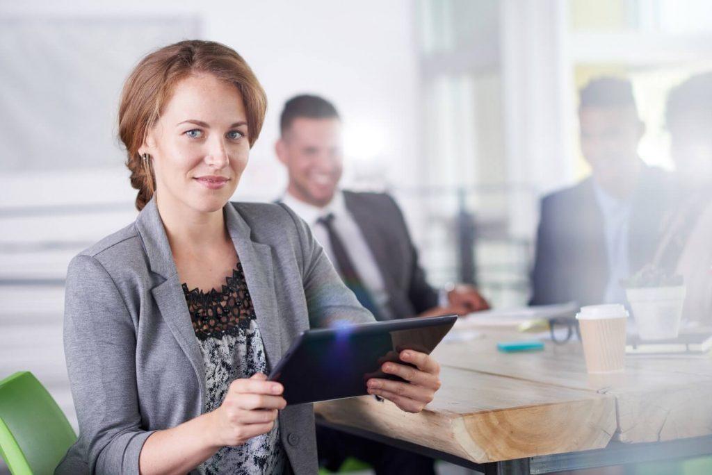 Femme d'affaires - ateliers entrepreneurship
